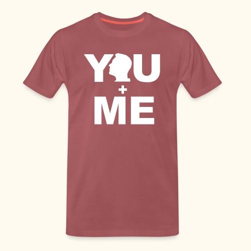Partner - Shirt You and Me Frau III - Männer Premium T-Shirt