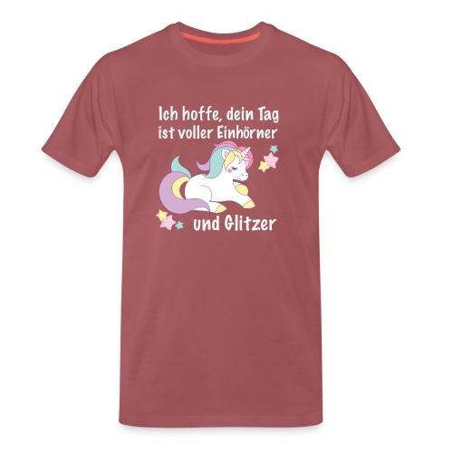 einhorntag - Männer Premium T-Shirt
