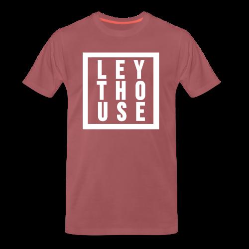 LEYTHOUSE Square white - Men's Premium T-Shirt