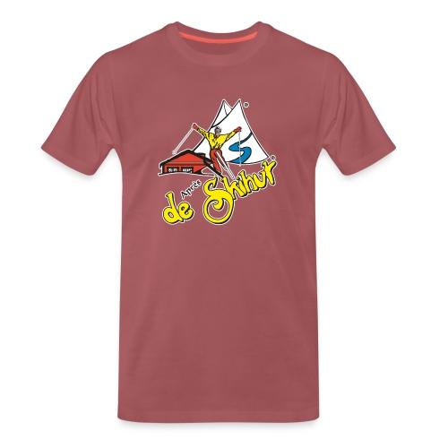 14787 fl tshirt logo skihut rotterdam - Mannen Premium T-shirt