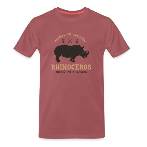 Einhörner sind real... - Männer Premium T-Shirt