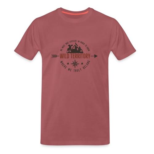 Wild Territory - Männer Premium T-Shirt
