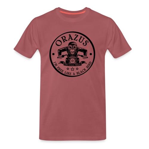 free black bird - T-shirt Premium Homme