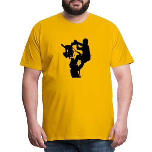 Arborist Baumpfleger - Männer Premium T-Shirt