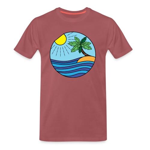 Strand Bunt - Männer Premium T-Shirt