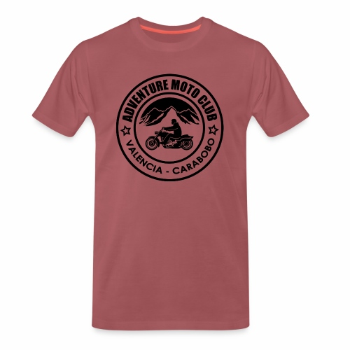 Black Adventure Moto Club - Männer Premium T-Shirt