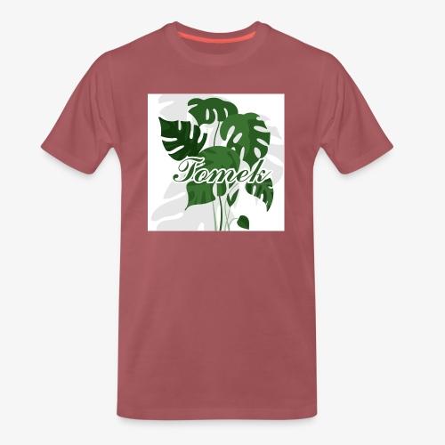 Tomek Monstera - Koszulka męska Premium