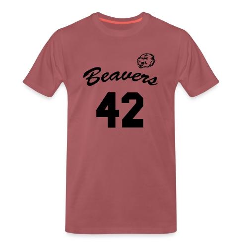 Beavers front - Mannen Premium T-shirt
