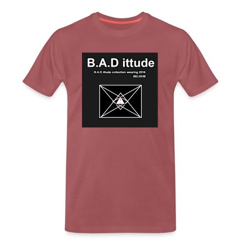 B.A.D ittude - Mannen Premium T-shirt