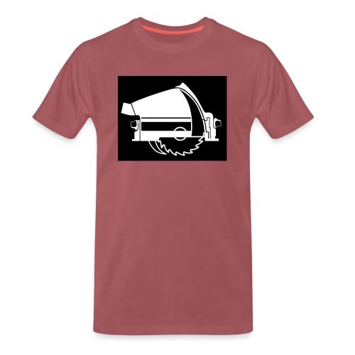saw - Men's Premium T-Shirt