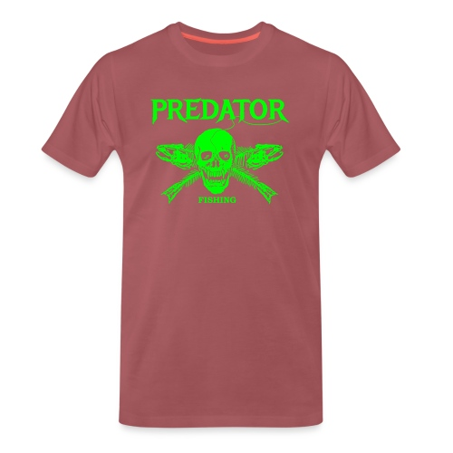 Predator fishing green - Männer Premium T-Shirt