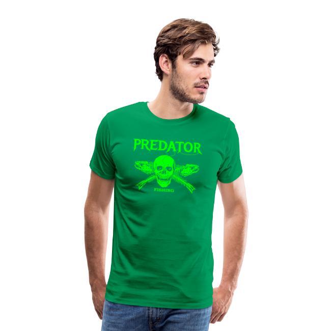 Predator fishing green