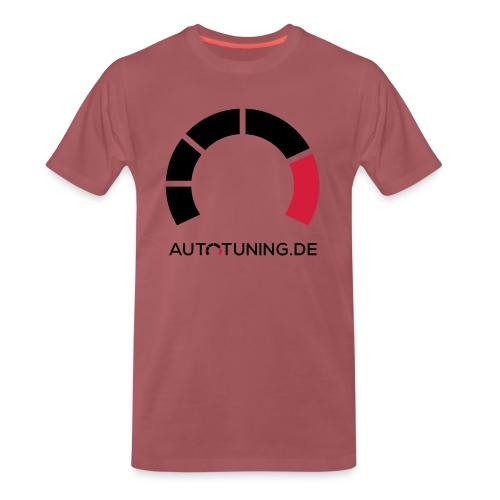 AUTOTUNING_QUADRAT_WEISS - Männer Premium T-Shirt