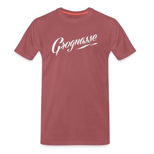 GROGNASSE BLANC - T-shirt Premium Homme