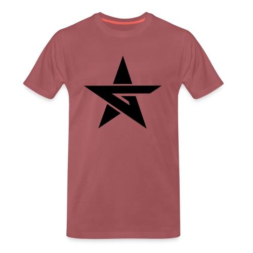 BLK Outline - Men's Premium T-Shirt