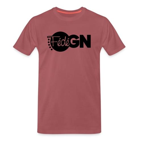 Logo FédéGN pantone - T-shirt Premium Homme