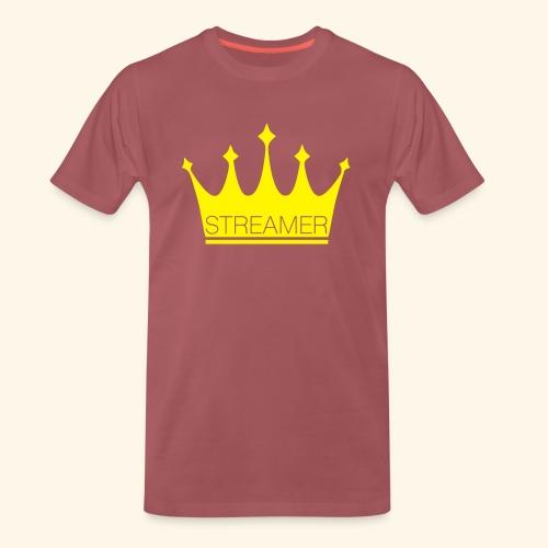 streamer live love online top social media shirt - Männer Premium T-Shirt