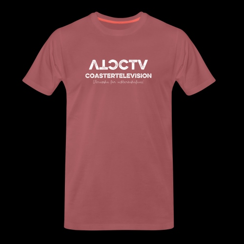 CTV Logo Wihte - Männer Premium T-Shirt