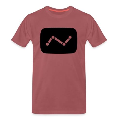 YTCount logo - Mannen Premium T-shirt