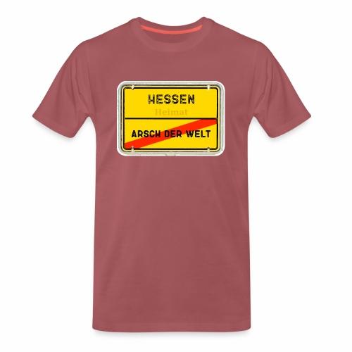 Hessen Heimat - Männer Premium T-Shirt