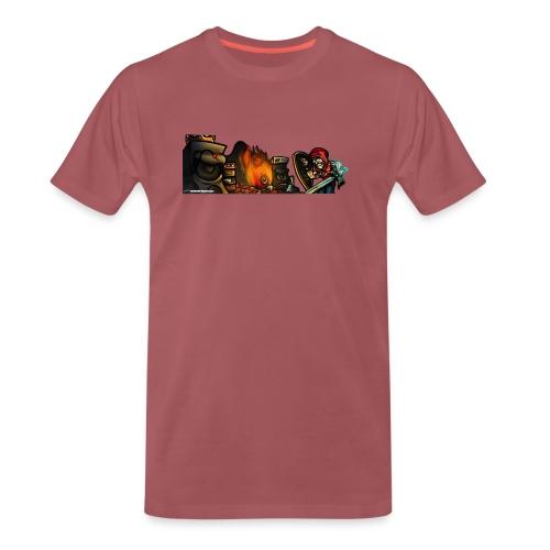 Warrior Fight! - Men's Premium T-Shirt