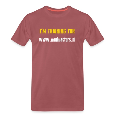tshirt back - Mannen Premium T-shirt