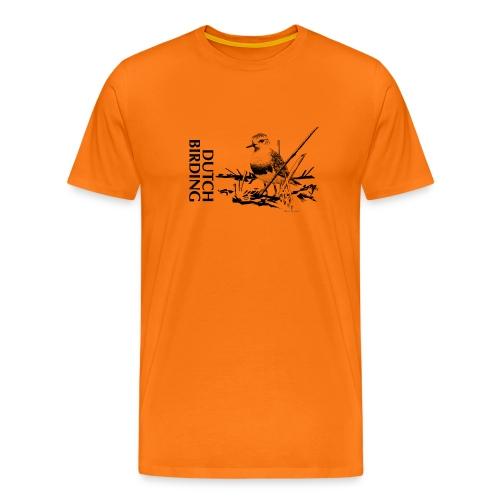 Steppeplevier - Westkapelle - Bram Rijksen - DB - Mannen Premium T-shirt