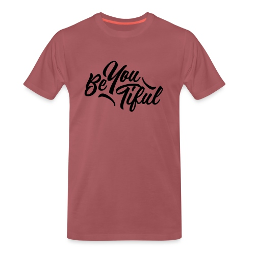 be-you-tiful by Saltees.nl - Mannen Premium T-shirt