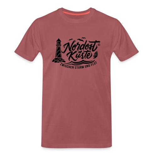 Nordost Küste Logo #6 - Männer Premium T-Shirt