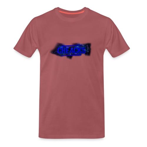 New Cheacks Banner/Logo Men Shirt - Mannen Premium T-shirt