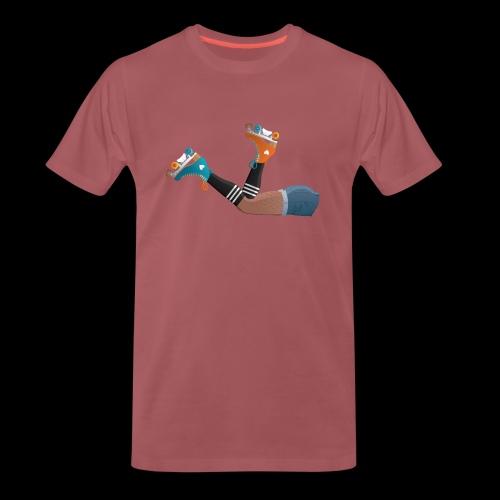 Unshaved rollergirl - T-shirt Premium Homme