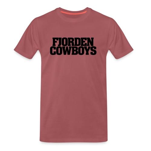 FC Logo sort vector - Premium T-skjorte for menn