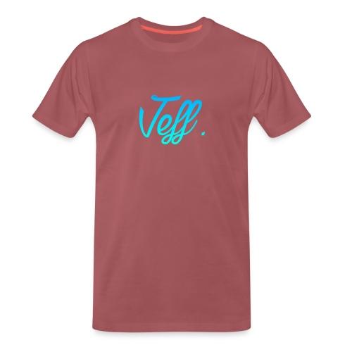 Jeff. Sweater - Mannen Premium T-shirt