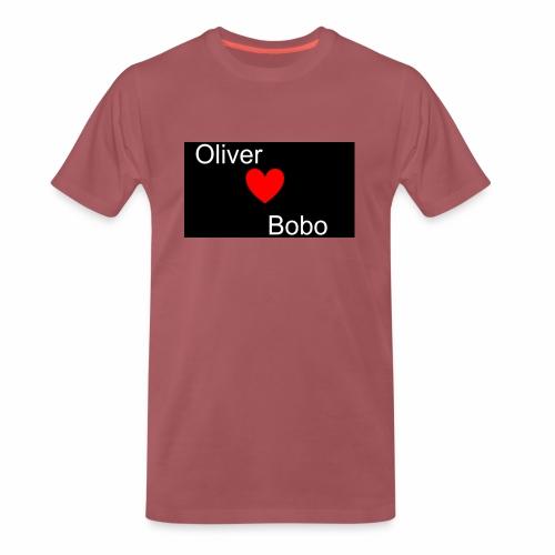 Oliver love Bobo - Premium-T-shirt herr