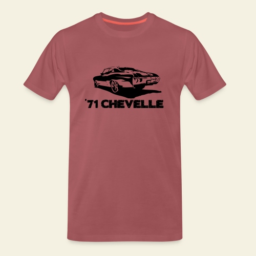 chevelle small - Herre premium T-shirt