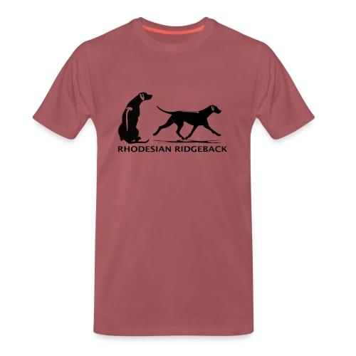 Rhodesian Ridgeback - Mannen Premium T-shirt