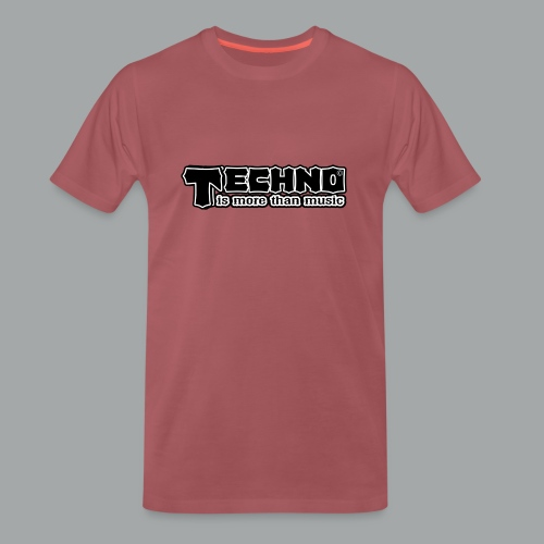 Techno Is More Than Music - Männer Premium T-Shirt