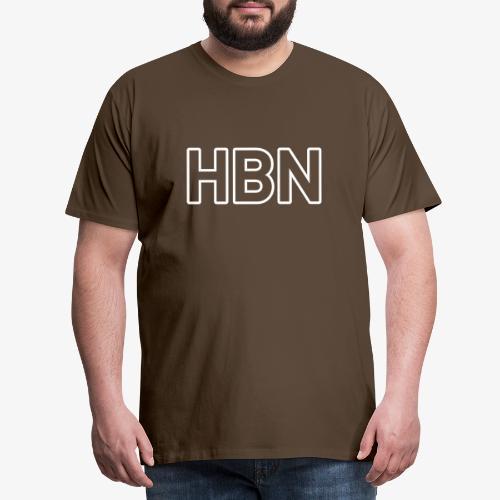 HBN 140% Vektor_Outline_W - Männer Premium T-Shirt