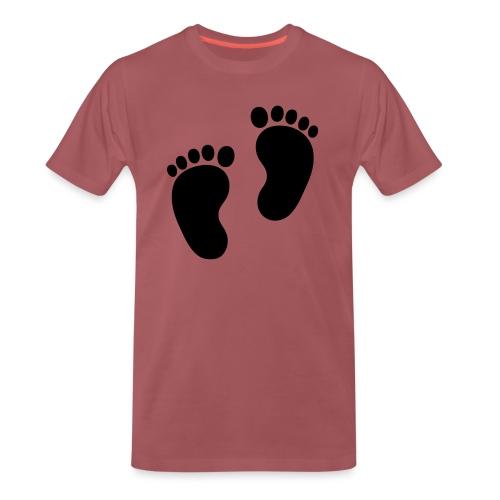 Baby voetjes - Mannen Premium T-shirt