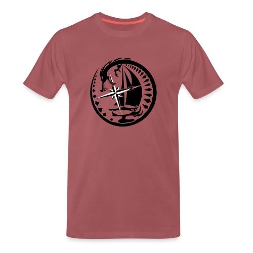 Drachen-Segler - Männer Premium T-Shirt