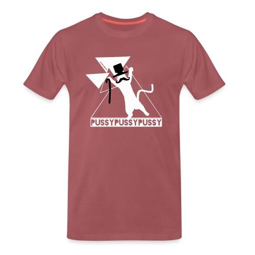 HipsterCatTwo - Männer Premium T-Shirt