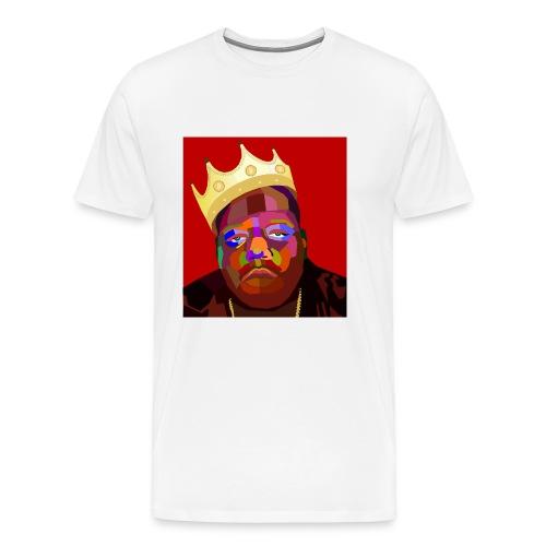WPAP Biggie BTC - Mannen Premium T-shirt