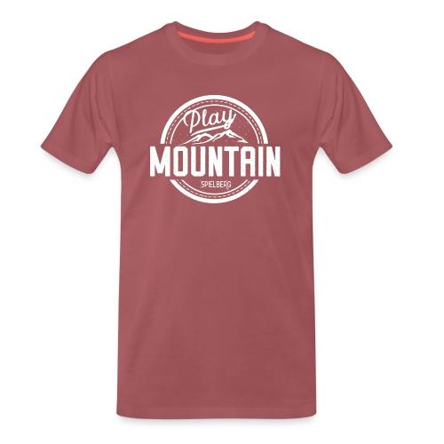 Play Mountain White Edition - Männer Premium T-Shirt