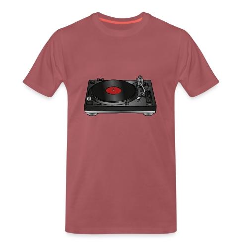 Plattenspieler VINYL - Männer Premium T-Shirt