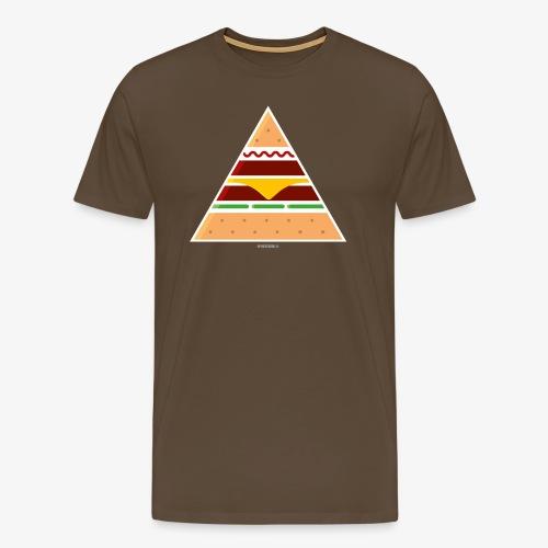 Triangle Burger - Maglietta Premium da uomo
