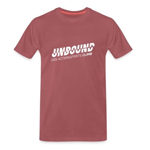 UNBOUND_CLIMB_WEISS - Männer Premium T-Shirt