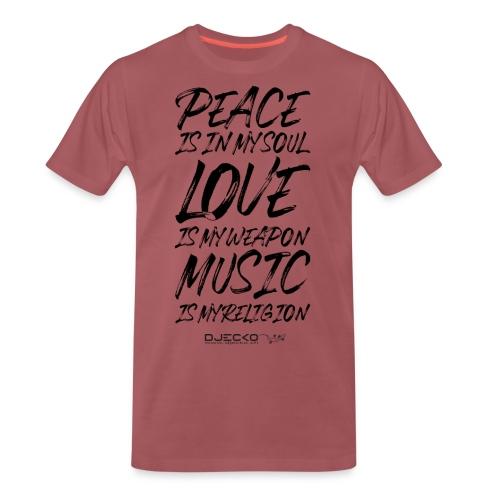 Djecko blk - T-shirt Premium Homme