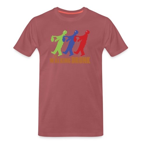 IoOdio ThaWalkinDrunk - Maglietta Premium da uomo
