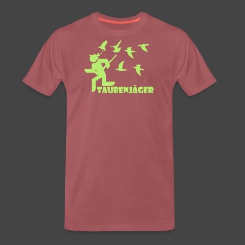 taubenjaeger plain - Männer Premium T-Shirt