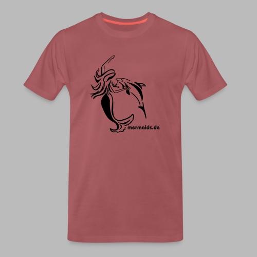 Mermaids Seejungfrau und Delphin - Männer Premium T-Shirt